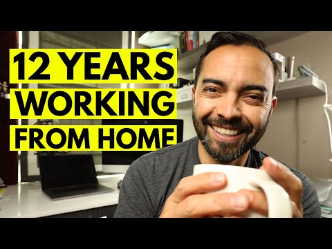 10 Methods to Stay Sane When Working At Home