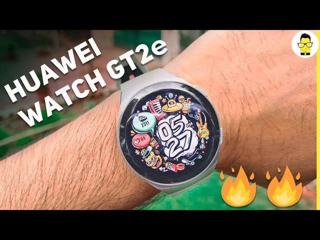 Huawei Watch GT2e Unboxing and Hands-on Review | If looks could kill 😍