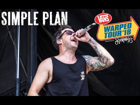 Simple Plan Live at Vans Warped Tour 2018 - Pomona, CA [Full Concert] [HD]