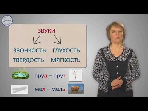 Уроки русского Согласные звуки и их буквы