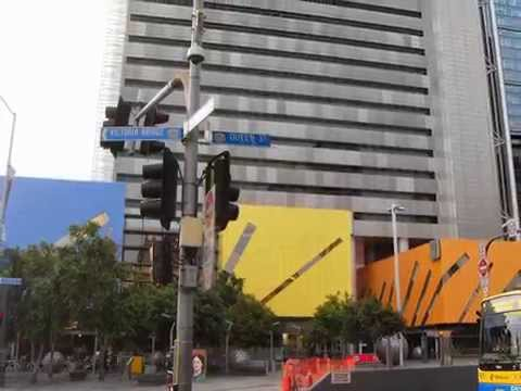 Walk through Brisbane City, Australia