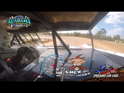 Speed Camera's of 10 different drivers at East Alabama Motor Speedway 9-22-19 State Race