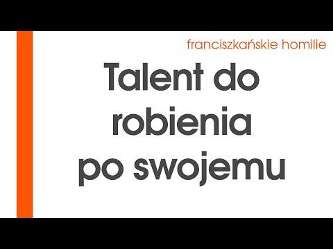 Talent do robienia po swojemu