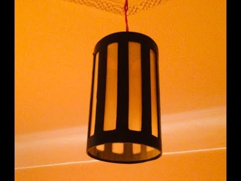 An easy way to make decorative wall lights from paralon pipes || AD