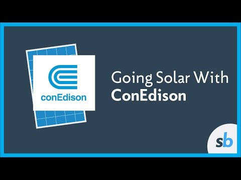 Going Solar in Con Edison