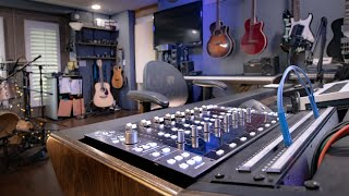 Setting up the SSL UF8 in a HOME STUDIO for MIXING