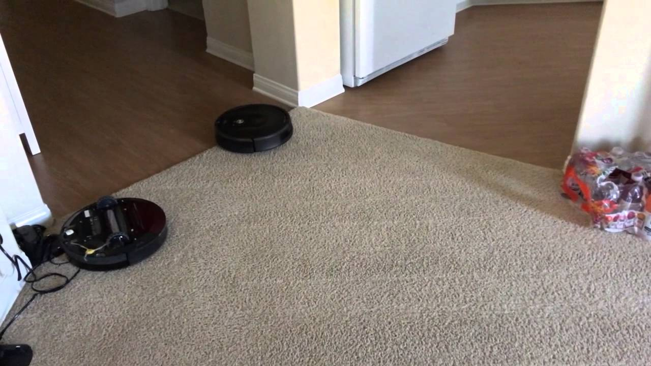 Roomba 980: Carpet Boost vs Hardwood Floor transitions - Roomba 980: Carpet Boost Vs Hardwood Floor Transitions - YouTube