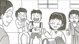 【涙が止まらない】認知症になった父と娘を描いたパラパラ漫画が話題に