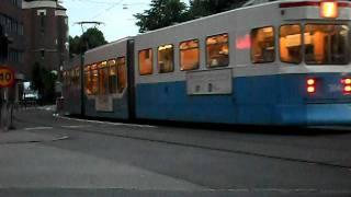 Göteborg spårvagn Kvällstrafik SVINGELN 2011