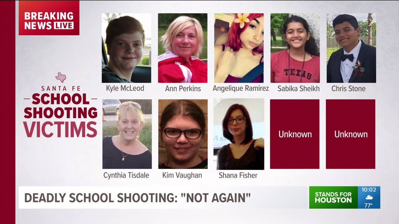 Some victims identified in Santa Fe mass shooting - YouTube 2d0c34b2c4d