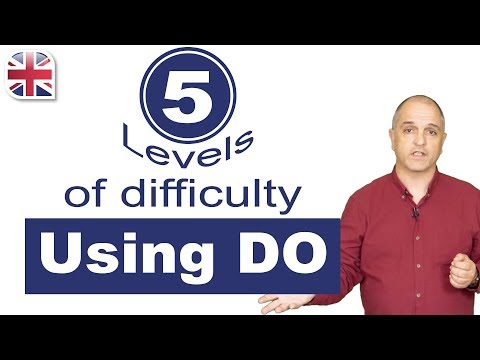How to Use Do in English - 5 Levels of English Grammar