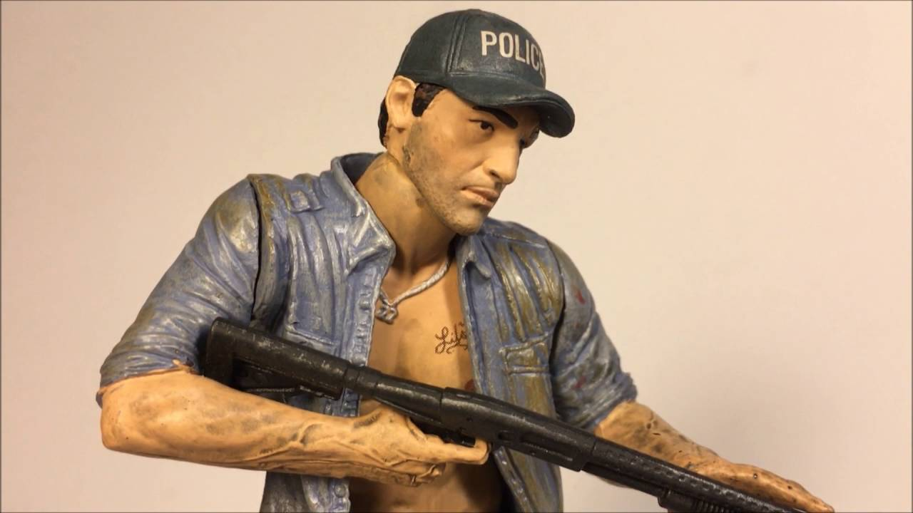Mcfarlane Toys Shane Walsh Action Figure Review The Walking Dead Tv Series 2