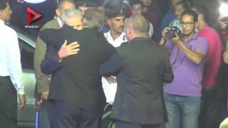 بالفيديو| عادل هيكل يتلقى العزاء في صديقه طارق سليم