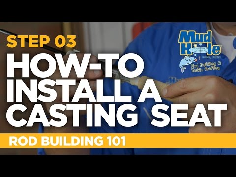 How-To Install A Casting Reel Seat | Rod Building 101