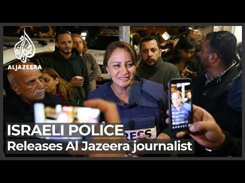 Israel releases Al Jazeera journalist after hours-long arrest