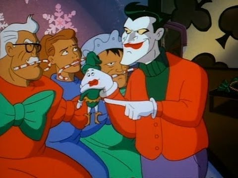 the animated bat cave christmas with the joker discussion batman tas episode two - Batman The Animated Series Christmas With The Joker