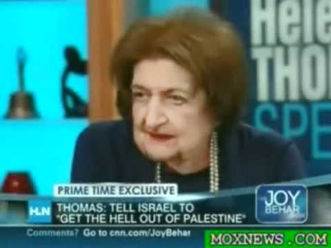 Helen Thomas: 'I'm Not Anti-Semitic, I'm a Semite!'