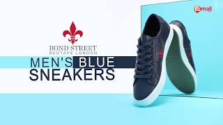 Bond Street by Red Tape Men's Blue Sneakers