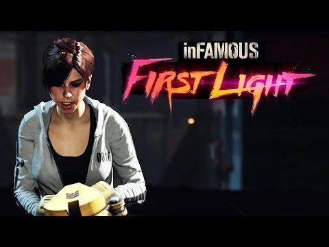 INFAMOUS FIRST LIGHT - Gameplay da DLC de Infamous Second Son em Português PT-BR!