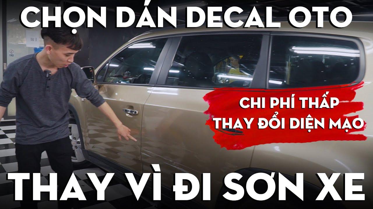 """Photo of giá sơn lại xe ô tô – """"Anh chọn Dán Decal oto chứ KHÔNG Sơn lại xe: l Decal oto [Mới Cập Nhật]"""