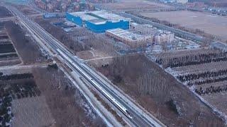 Railway line for Beijing 2022 Winter Olympics begins operation