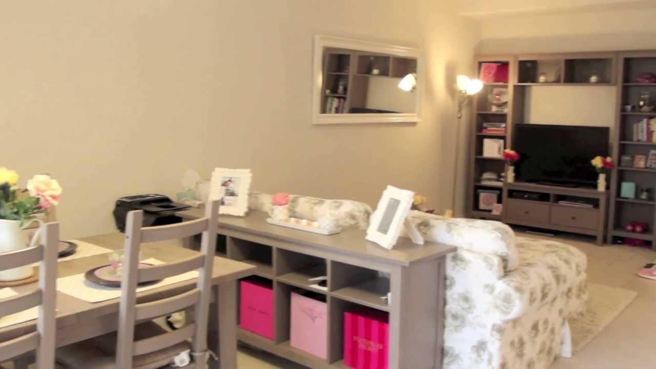 My Apartment: Living Room Tour   ilikeweylie - YouTube