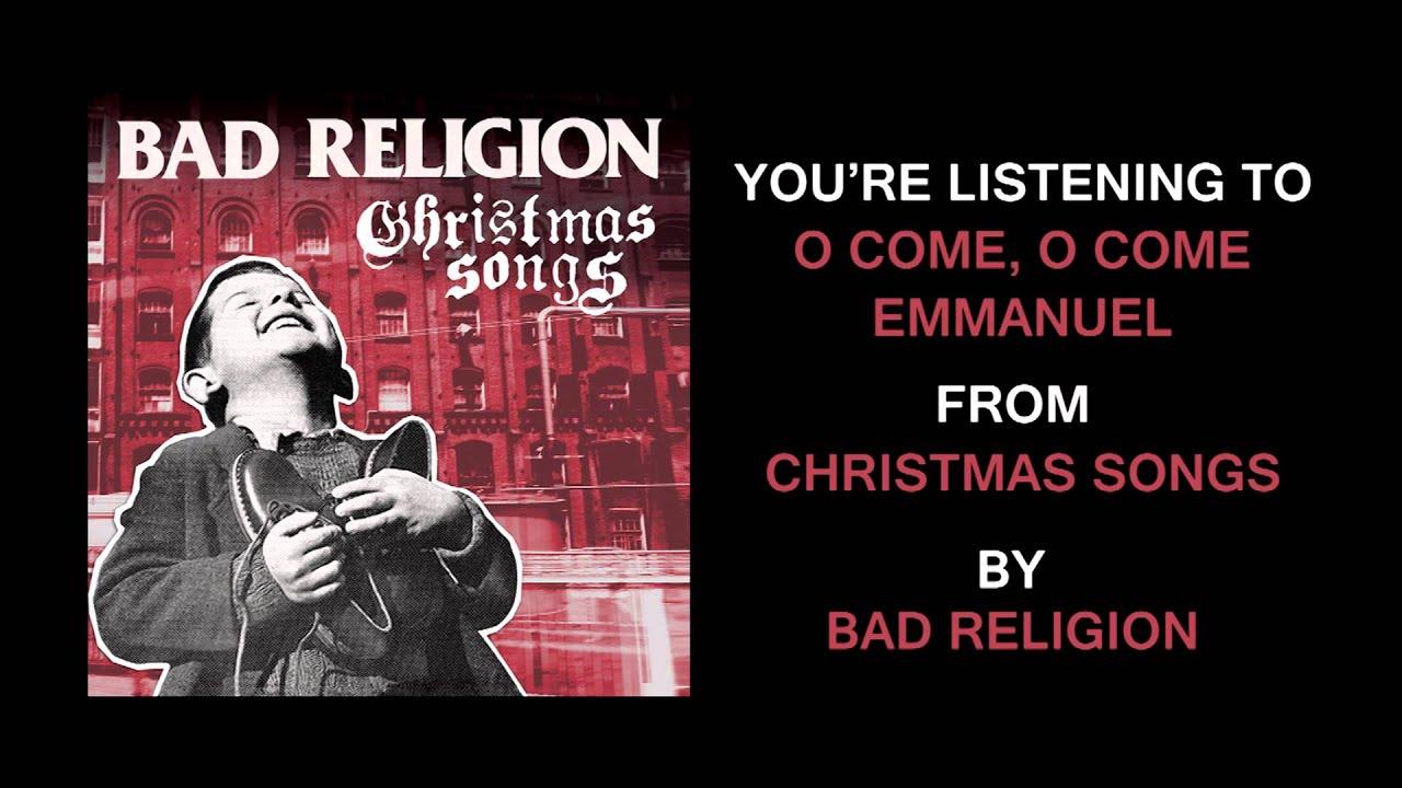 bad-religion-o-come-o-come-emmanuel-epitaphrecords