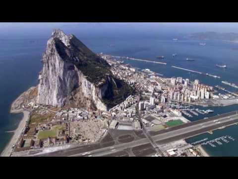 Gibraltar, known as The Rock, is an overseas territory of the United Kingdom