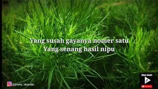 Gambar cover Negara Lucu - enau (Lirik Video)