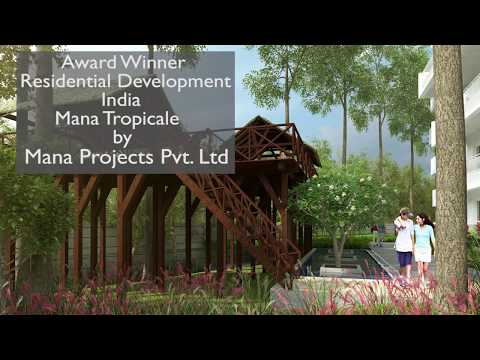 Mana Tropicale Grabs Asia Pacific Property Awards 2017-2018 in Residential Development India