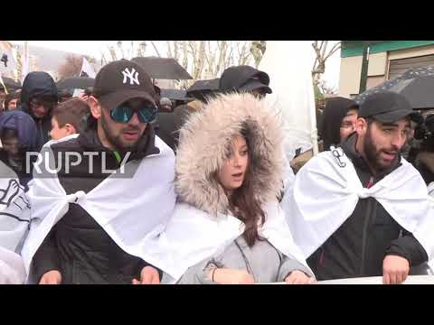 France: Corsican nationalists hold protest ahead of Macron's visit
