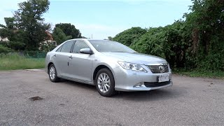 2014 Toyota Camry 2.0 G Start-Up, Full Vehicle Tour and Test Drive