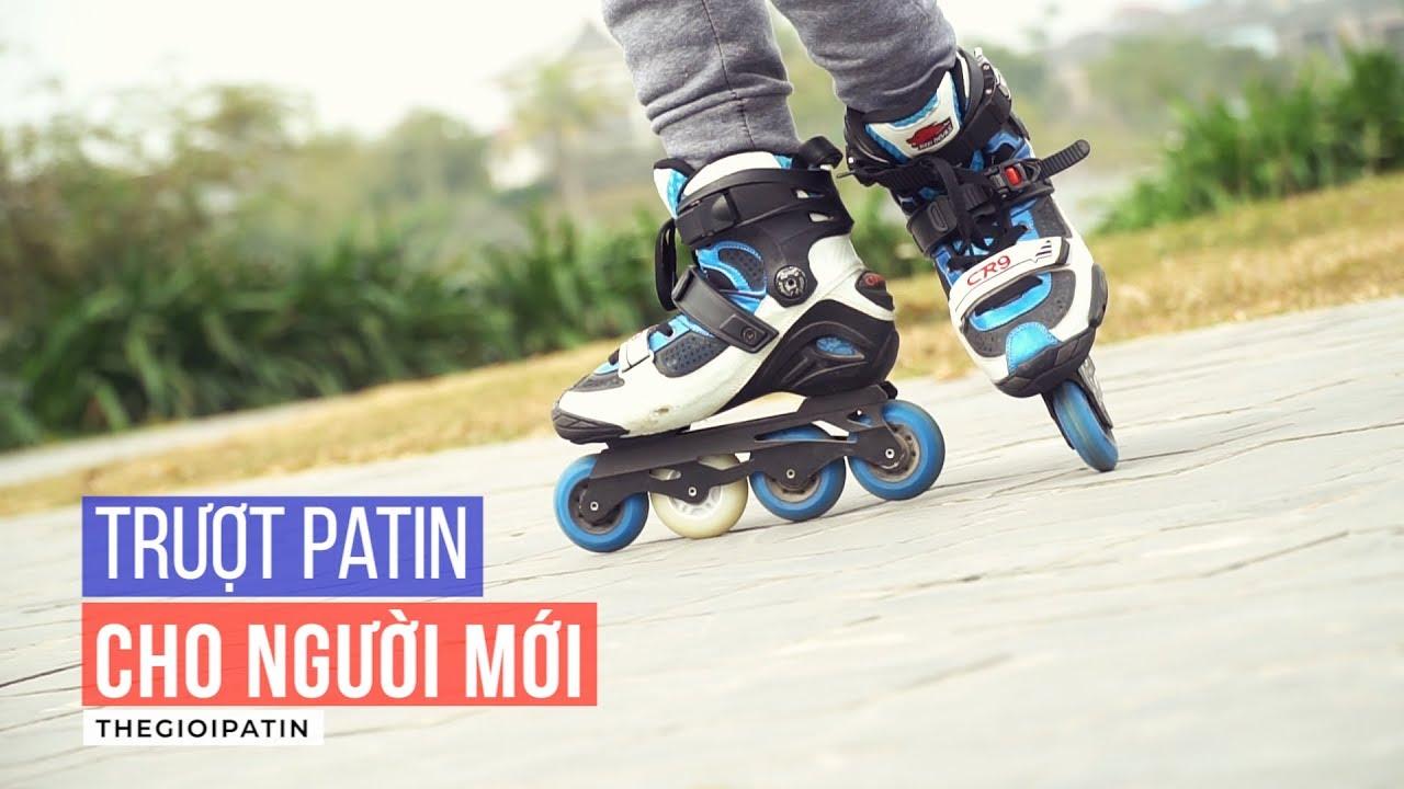 Dạy Trượt Patin #1 – Kỹ thuật trượt patin cơ bản cho người mới