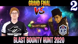 Secret vs OG Game 2 | Bo5 | Grand Final BLAST Bounty Hunt | DOTA 2 LIVE