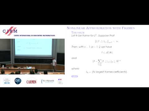 Philipp Grohs: Wavelets, shearlets and geometric frames - Part 1