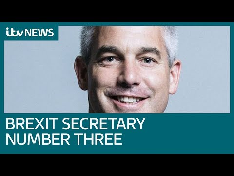 Stephen Barclay is new Brexit Secretary as Amber Rudd returns to Government | ITV News
