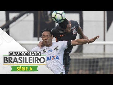 Melhores momentos - Santos 2 x 0 Corinthians - Campeonato Brasileiro (10/09/2017)