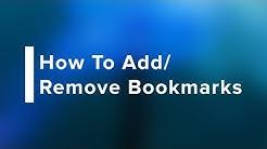 How to Add/Remove Bookmarks in Safari