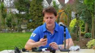 Microphone tests for Cameras Canon 600D  panasonic SD900 and flip cam part 1