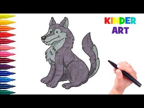 Как нарисовать ивана царевича и серого волка карандашом
