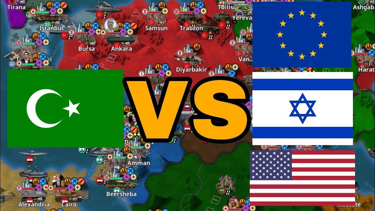 Mod Review World Conqueror 4:Modern Day mod v1 6