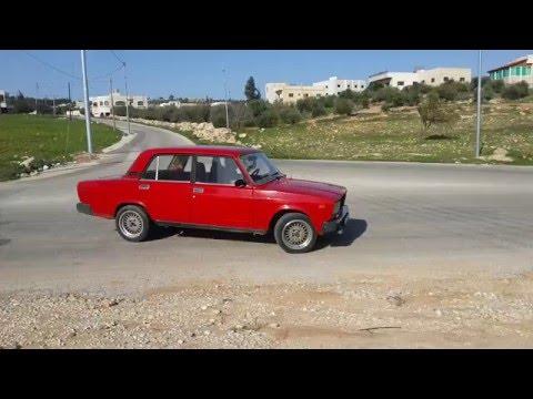 Lada 2107 Drift.. donuts تشحيط...