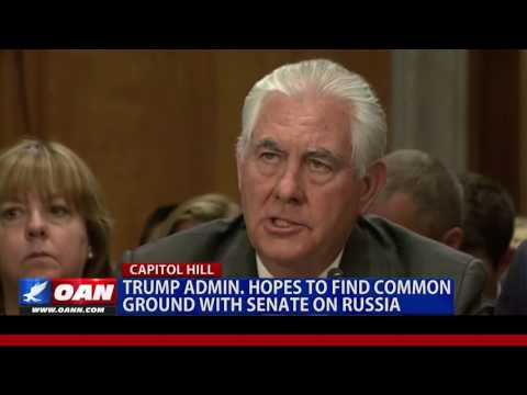 Trump Admin. Seeks Common Ground with Senate on Russia