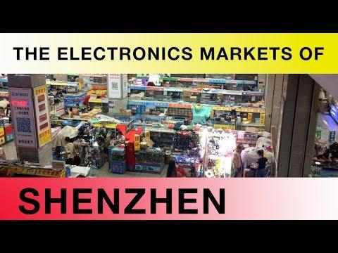 The Electronics Markets Of Shenzhen