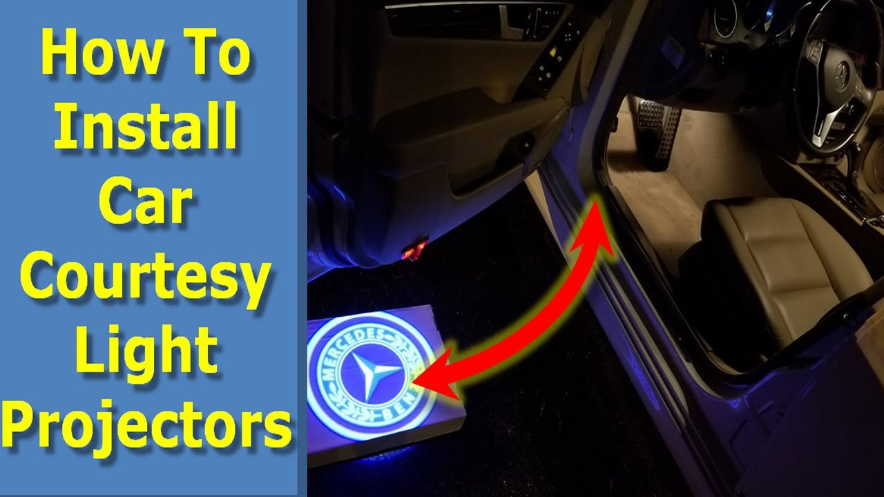Wireless Car Door Projector Welcome Laser LED Ghost Shadow Light For Ford F-150