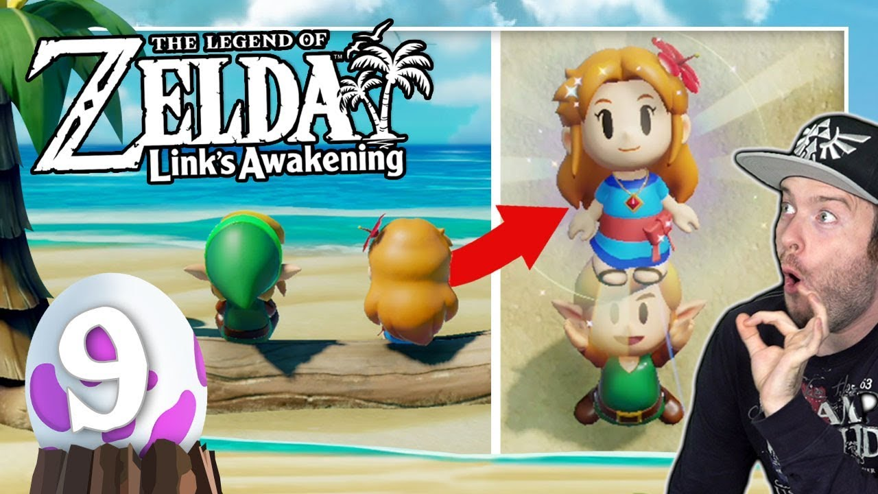 THE LEGEND OF ZELDA LINK'S AWAKENING 🗡️ #9: Mit Marin allein am Strand... thumbnail
