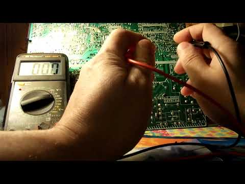 алгоритм поиска неисправности или как прозвонить микросхему мультиметром