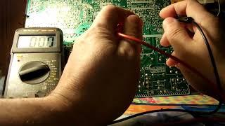 bir multimeter bilan chip ping uchun qanday ayb qidirish algoritm yoki