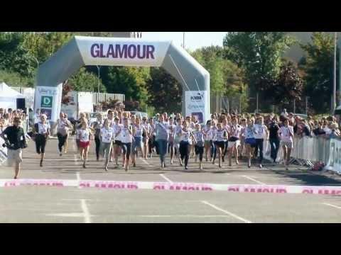 GLAMOUR Bieg wyścig na szpilkach 2013 finał HD