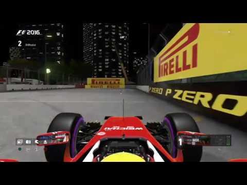 F1 racestars - RND 15 - Singapore - F1 League